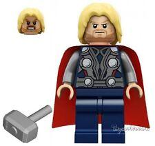 LEGO SUPER HEROES MARVEL - MINIFIGURA THOR SET 6868 6869 - ORIGINAL MINIFIGURE