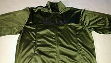 Reebok Olive Green Track Jacket Mens L