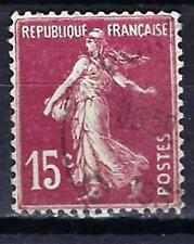 France 1924 type semeuse fond plein (3) Yvert n° 189 oblitéré 1er choix