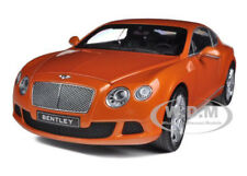 2011 BENTLEY CONTINENTAL GT METALLIC ORANGE 1/18 CAR BY MINICHAMPS 100139921