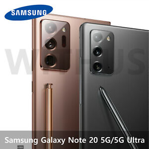 Samsung Galaxy Note20 5G SM-N981N / Note20 Ultra 5G SM-N986N Unlocked 2020 New