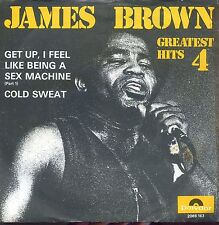7inch JAMES BROWN get up, i feel like being a sex machine HOLLAND +PS EX