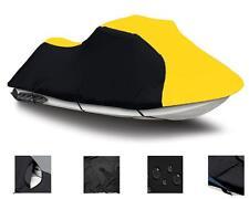 YELLOW Yamaha Waverunner GP 760 GP 800 GP 1200 97-02 Jet Ski Cover 2 Seater