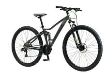 "Iron Horse Warrior 29"" Men's Mountain Bike Full Suspension Frame Bicycle-Black"