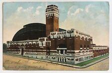 1907 NY Postcard New York City Brooklyn Troop C Armory John Smith stamp