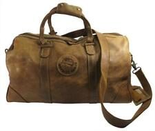 Roots Leather Duffel Overnight Weekender Carryon Bag Made in Canada Orig $468