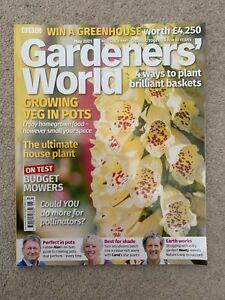 Gardeners World May 2021 Magazine Only - New