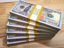 SUPER BIG DEAL 100 PIECES REPLICA USA HUNDRED DOLLARS INVALID FAKE PROP MONEY