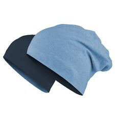 Mstrds Jersey reversible gorro - Masterdis Pasamontañas muchos colores Índigo azul marino