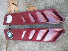 BMW Z3 Burgundy Hood Vents Trim Molding  1998