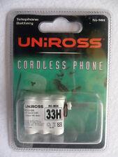 Uniross 33 H 3.6 V Cordless telefono batterie BC101536 280 mAh NI-MH