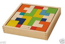Everearth eco en bois enigma puzzle neuf et emballé enfant en bois jouet