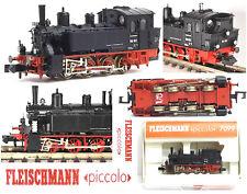 FLEISCHMANN 7099 LOCOMOTIVA VAPORE GtL 4/4 BR98 DR TENDER INTEGRATO OVP SCALA-N