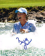 Brittany Lincicome signed Lpga 8x10 photo with Coa