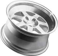 "17x9 +25 Klutch ML7 5x114.3 5X4.5 Brushed Silver Rim Wheels | 3"" LIP | Set of 4"