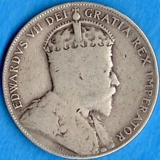 Canada 1906 50 Cents Fifty Cents Silver Coin - G/VG