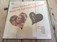 connie smith& nat stuckey-even the bad times are good 1973 rCA records u.S l.P.