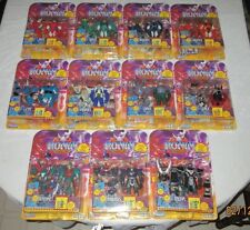 Lot of 11 Ronin Warriors Action Figures (8801-8811) Playmates