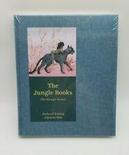 The Jungle Books Mowgli Stories Rudyard Kipling '15 HC Book SEALED Aljoscha Blau