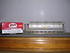 ATLAS #1966-1  S.P. ACF Cylindrical 6-Bay Covered Hopper Car #491010 H.O.Gauge