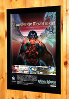 Baten Kaitos Eternal Wings and the Lost Ocean Poster Old Ad Page Framed GameCube