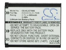 Battery for KODAK EasyShare M215  EasyShare M22  EasyShare M52  EasyShare M522