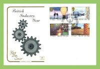 G.B. 1986 Industry Year set on u/a Cotswold First Day Cover, Steel Smelters