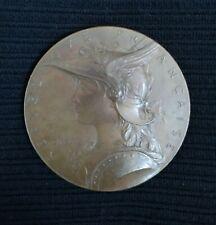 Médaille Bronze Roty  Récompense de Tir  勳章 French Medal