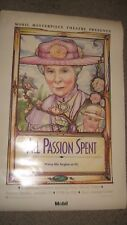 """Wendy Hiller All Passion Spent Masterpiece Theatre 30x45"""" Poster #M7423"""