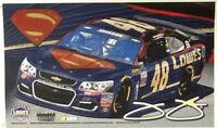 Jimmie Johnson NASCAR # 48 Deluxe Grommet Flag Licensed Double Sided 3' x 5'