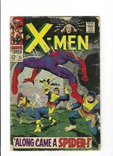 X-men #35 featuring Spiderman!Silver Age Classic, 2.5 VG+, 1967 Marvel