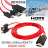 1080P MHL To HDMI HD TV Cable Micro USB Adapter For Android Phones Samsung New
