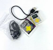 ECLIPSE FIT CLIP MINI MP3 PLAYER 4GB SILVER/YELLOW FAST FREE SHIPPING