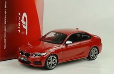 2014 BMW M235i F22 Coupé red rouge 1:18 GT Spirit