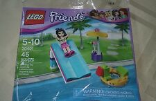 Lego Friends Polybag Set # 30401 Emma Water Slide new 2017 45 pieces
