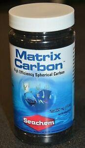 Matrix Carbon Seachem 250ml bottle Freshwater or Saltwater aquariums