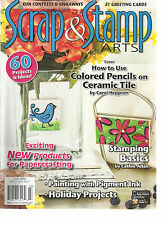 SCRAP & STAMP ARTS,  JULY, 2015  (  EXCITING NEW PRODUCTS FOR PAPERCRAFTING )