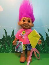 "KITE FLYING TRAVIS - 7"" Russ Troll Doll - NEW IN ORIGINAL WRAPPER"