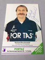 RICHARD BOCZKOWSKI Handball Weltmeister 1978 signed  Autogrammkarte 10 x 15