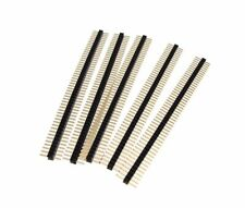 1x50 Single Row 1.27mm Straight Male Pin Header - Pack of 5