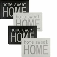 SET OF 4 VINYL HOME SWEET HOME PLACEMATS /TABLE PLACE MAT - 44 x 29 cms