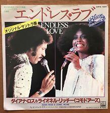 "DIANA ROSS & LIONEL RICHIE -cEndless Love Japan 7"" Vinyl VIPX-1591"