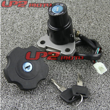 Ignition Switch Fuel Gas Cap Keys Set for Yamaha XT600 90-95 / TW200 03-17