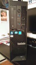 Pc WORKSTATION LENOVO C30 XEON E5-2609 V2 SSD 4 CORE 16GB RAM Quadro K2200