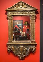 19th Century Florentinian Baroque Style Gilded Mirror