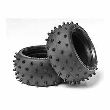 Tamiya 53059 Wide Stud Spike Tires/Tyres (Fighter/Sand Rover/Holiday Buggy) NIP