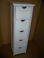 Schubladenschrank Badschrank LADA 5 Schubladen weiß