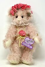 Annette Funicello Sweet Guardian Angel Bear Mohair wtags Jointed Ltd 124 Nib