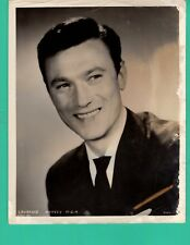 LAURENCE HARVEY Movie Star Actor Promo 1950's Photo 8x10 MGM