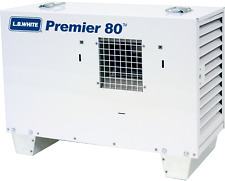 Lb White Premier 80 Ductable Heater 80,000 Btuh, Lp, w/Thermostat, Hose, Reg.